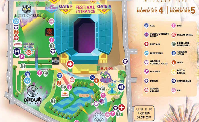 The EDC Orlando Festival Map Is Now Available