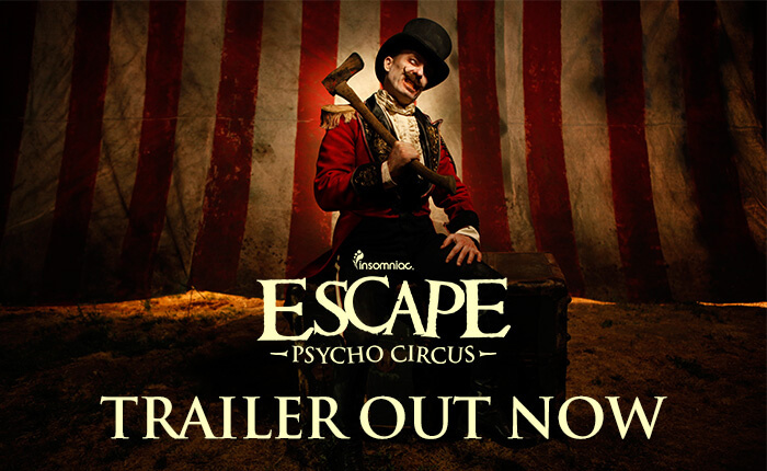 Watch the Official Escape Trailer… If You Dare
