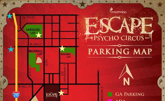 Important Information Regarding Traffic and Parking at Escape