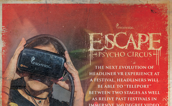 Experience the Virtual Reality Booths at Escape