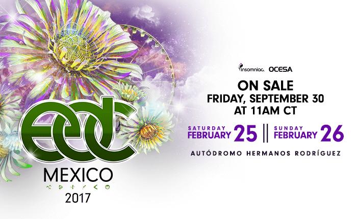 EDC Mexico Returns to Mexico City February 2017