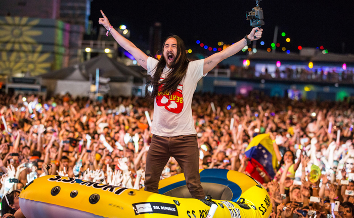 Get Hyped With This Exclusive EDC India Playlist From Steve Aoki