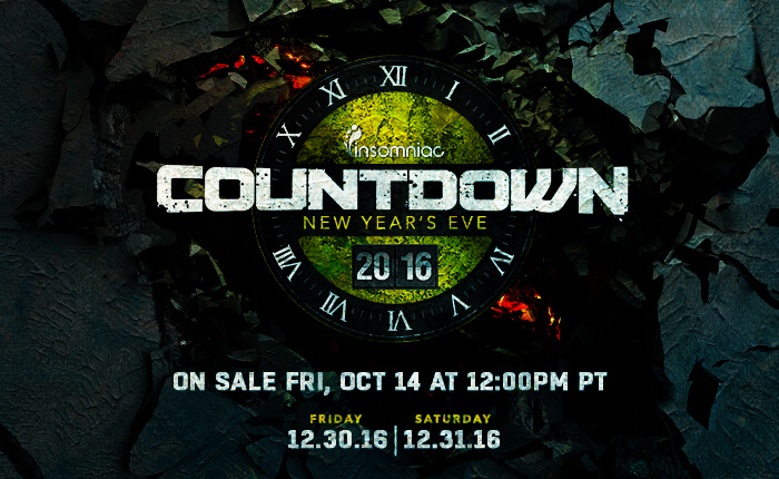 Countdown Returns to SoCal December 2016 as an Expanded 2-Day Event