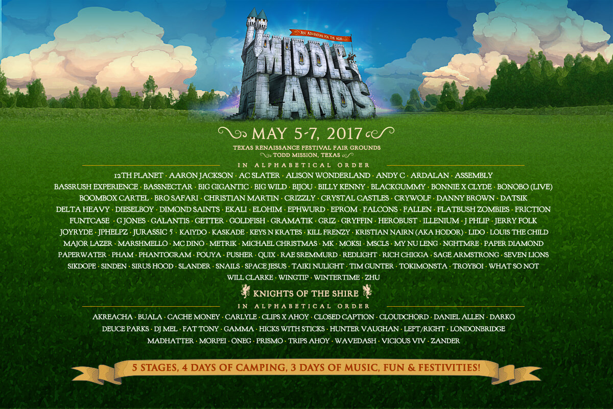 experience - middlelands 2017