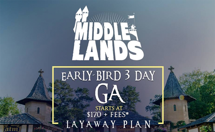 Let No Feat Stand in the Way of Getting Middlelands Tickets and Camping Passes!