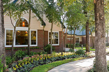 Residence Inn Houston the Woodlands:Lake Front Circle