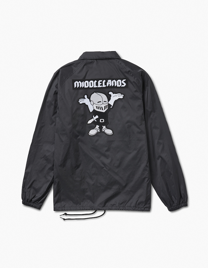 coaches jacket-back