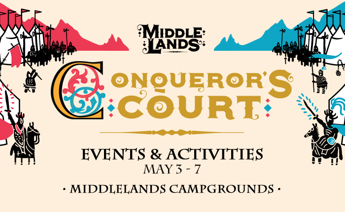 Check Out the Full List of Activities Awaiting YOU at Conqueror's Court