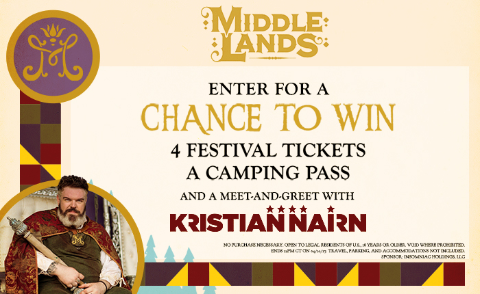 You Could Win Tickets to Middlelands and a Meet-and-Greet With Kristian Nairn