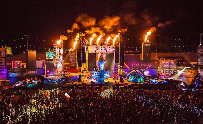 The Sounds of EDC Las Vegas: wasteLAND