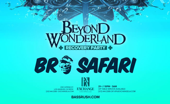 Bassrush Hosts Official Beyond Wonderland Recovery Party at Exchange LA