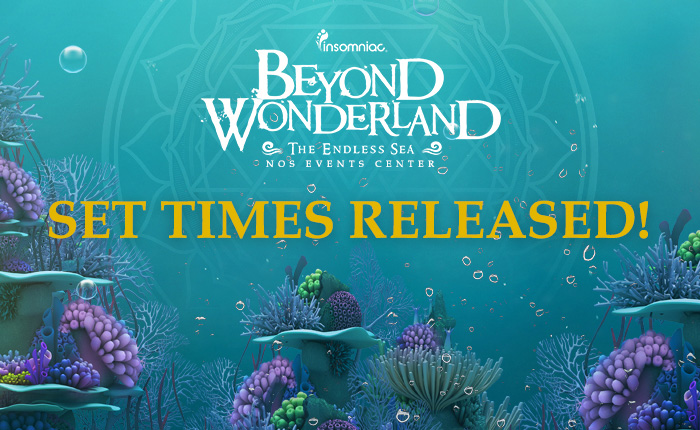 Beyond Wonderland SoCal Set Times and App Now Available