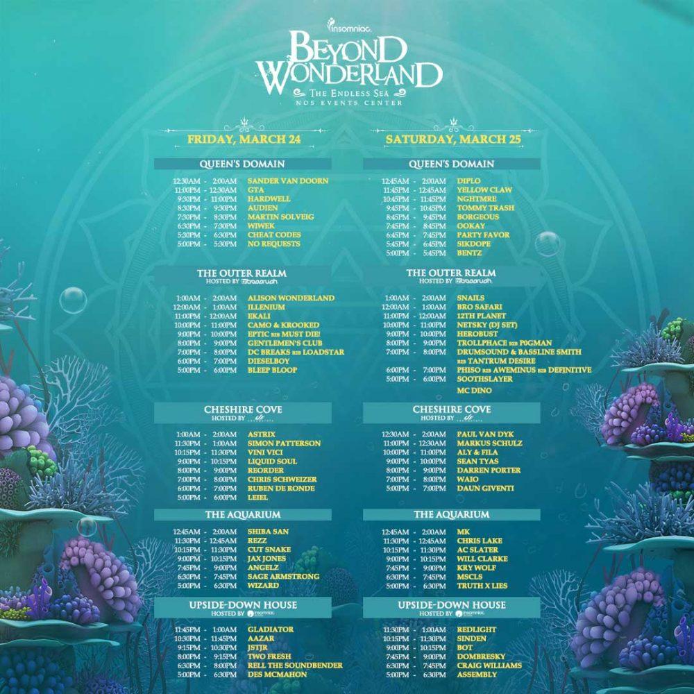Beyond Wonderland SoCal 2017