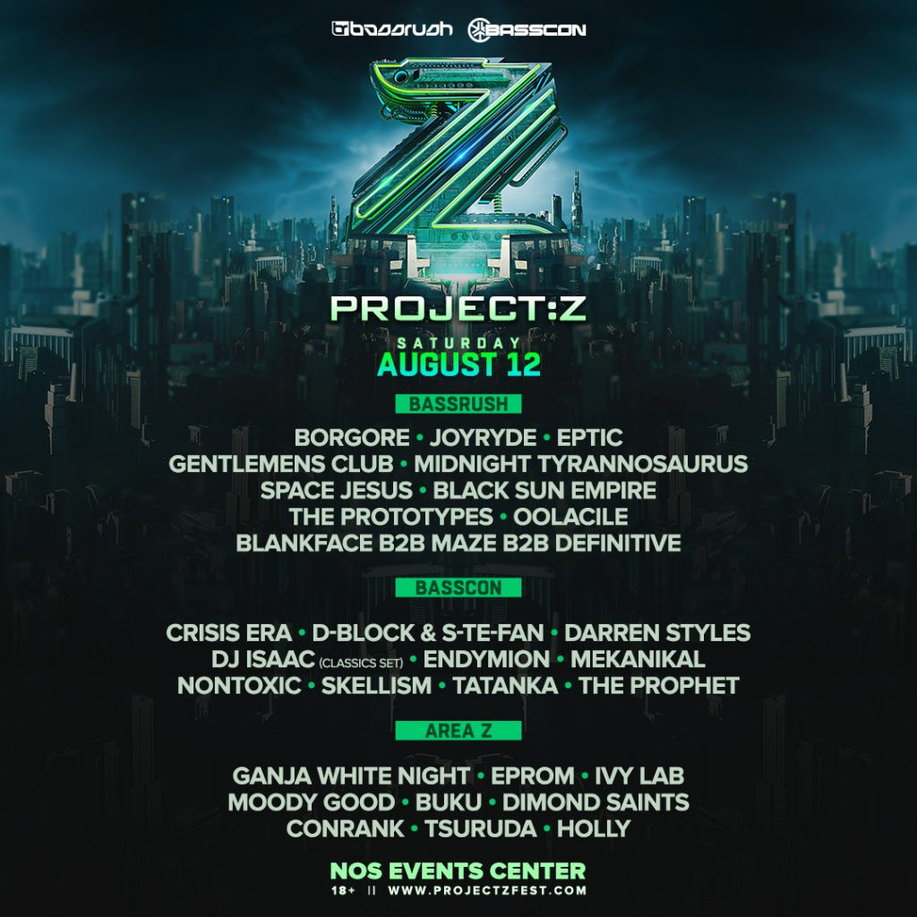 PROJECT:Z Lineup