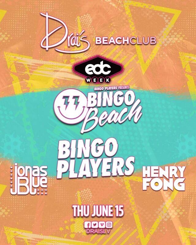 Bingo Players, Jonas Blue, Henry Fong