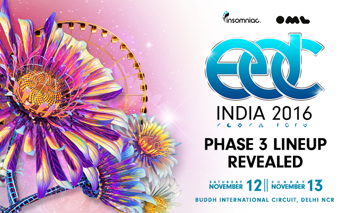 Final Lineup Announced for EDC India