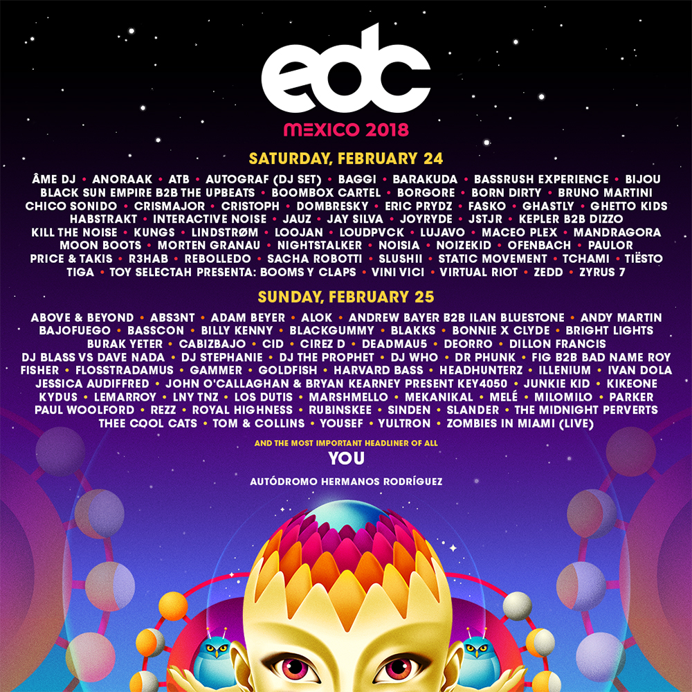 Electric Daisy Carnival Set Times Electrical Schematic