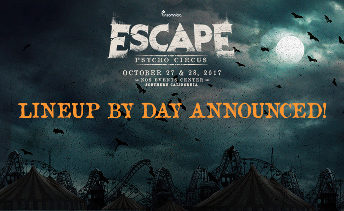 Escape: Psycho Circus single-day tickets
