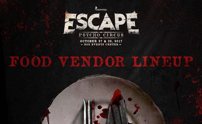 Escape: Psycho Circus food