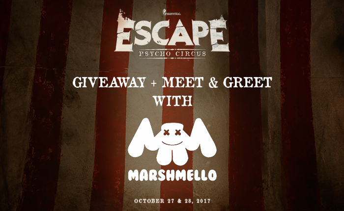 Meet & greet with Marshmello