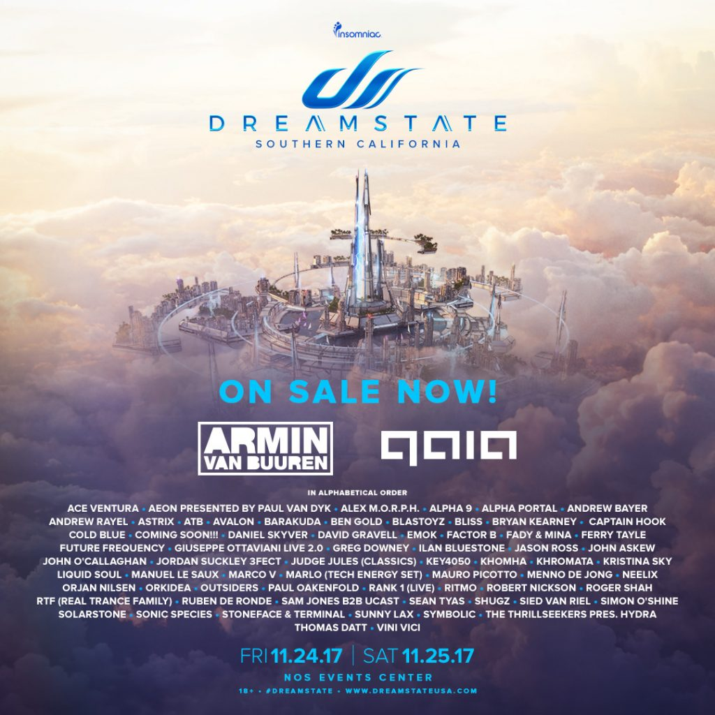 dreamstate socal tickets