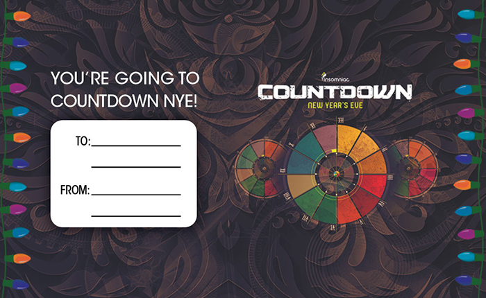 Spread the Festival Feels With This Countdown Gift Tag for the Headliner on Your Holiday List