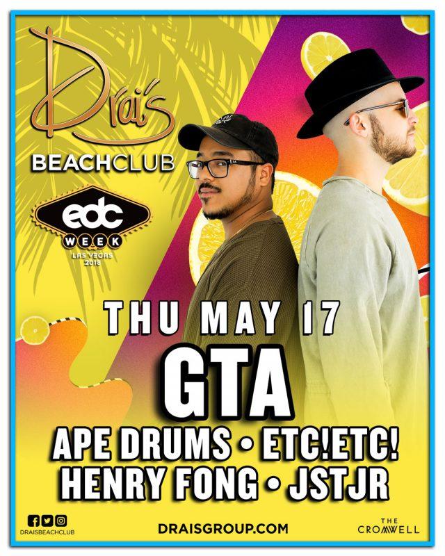 GTA, ETC!ETC!, JSTJR, Ape Drums, Henry Fong