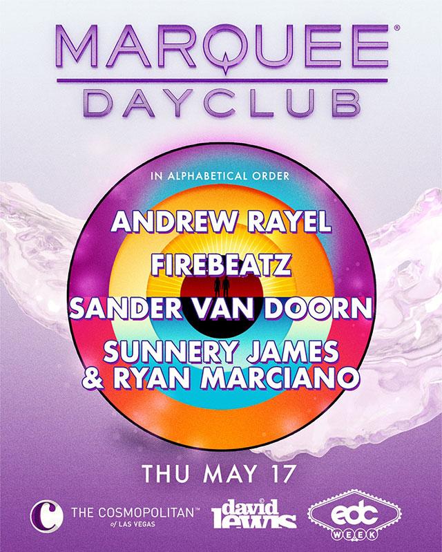 Andrew Rayel, Firebeatz, Sander Van Doorn, Sunnery James & Ryan Marciano