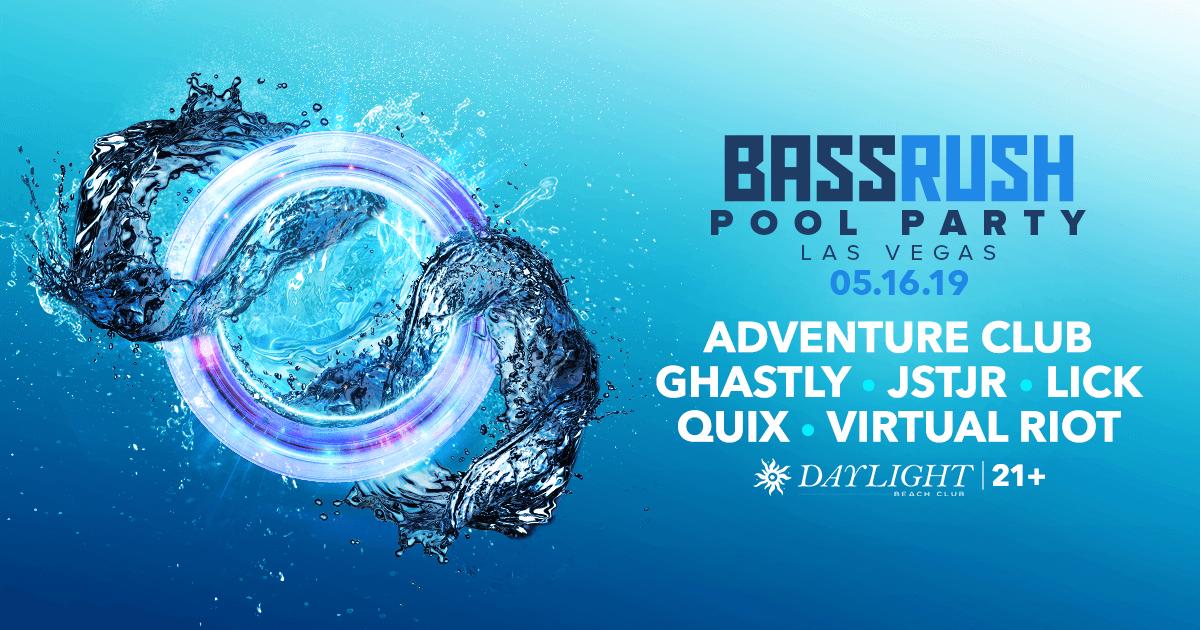 Bassrush Pool Party - EDC Week 2019